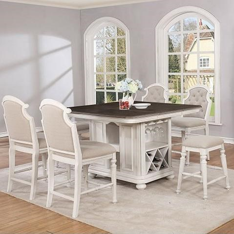 Christina Kitchen Island and Chair Set by Avalon Furniture at Wilcox Furniture