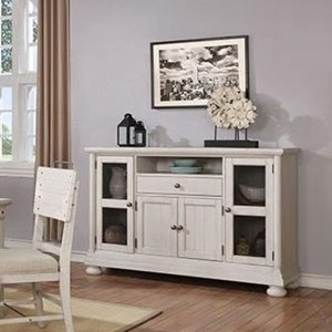 Rustic Sideboard with Storage Drawer