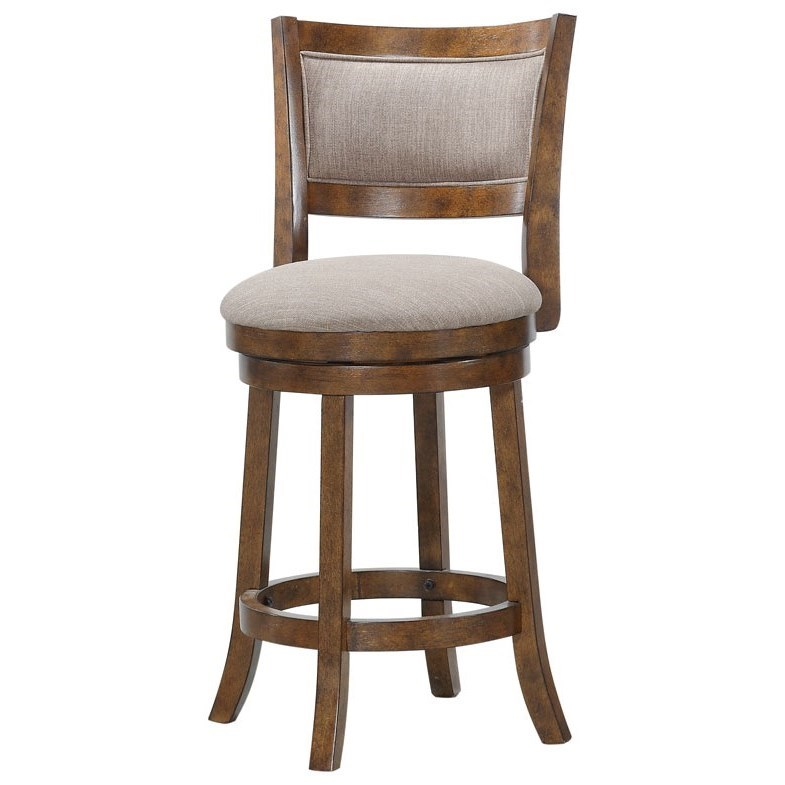 D018 Upholstered Swivel Gathering Chair by Avalon Furniture at Wilcox Furniture