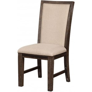 Casual Upholstered Dining Chair