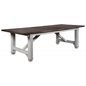 Rectangular Dining Table with Table Leaf