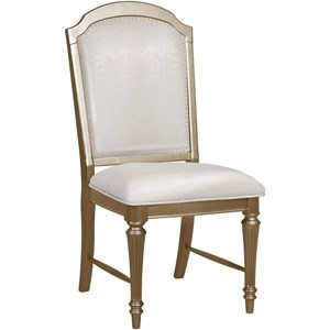 Upholstered Glam Dining Side Chair