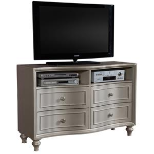 Media Chest w/ 4 Drawers