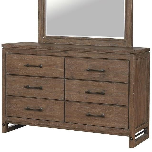 Round Rock Dresser by Avalon Furniture at Story & Lee Furniture