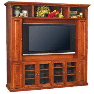 Baker Road Home Theater Furniture Wall Unit