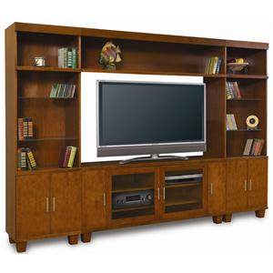 Baker Road Home Theater Furniture Modern Wall Unit
