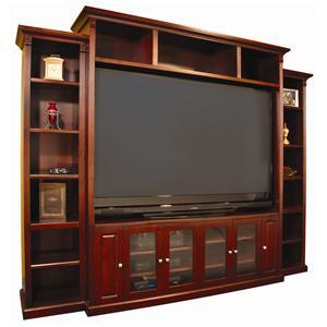 Baker Road Home Theater Furniture <b>Customizable</b> Entertainment Wall Unit