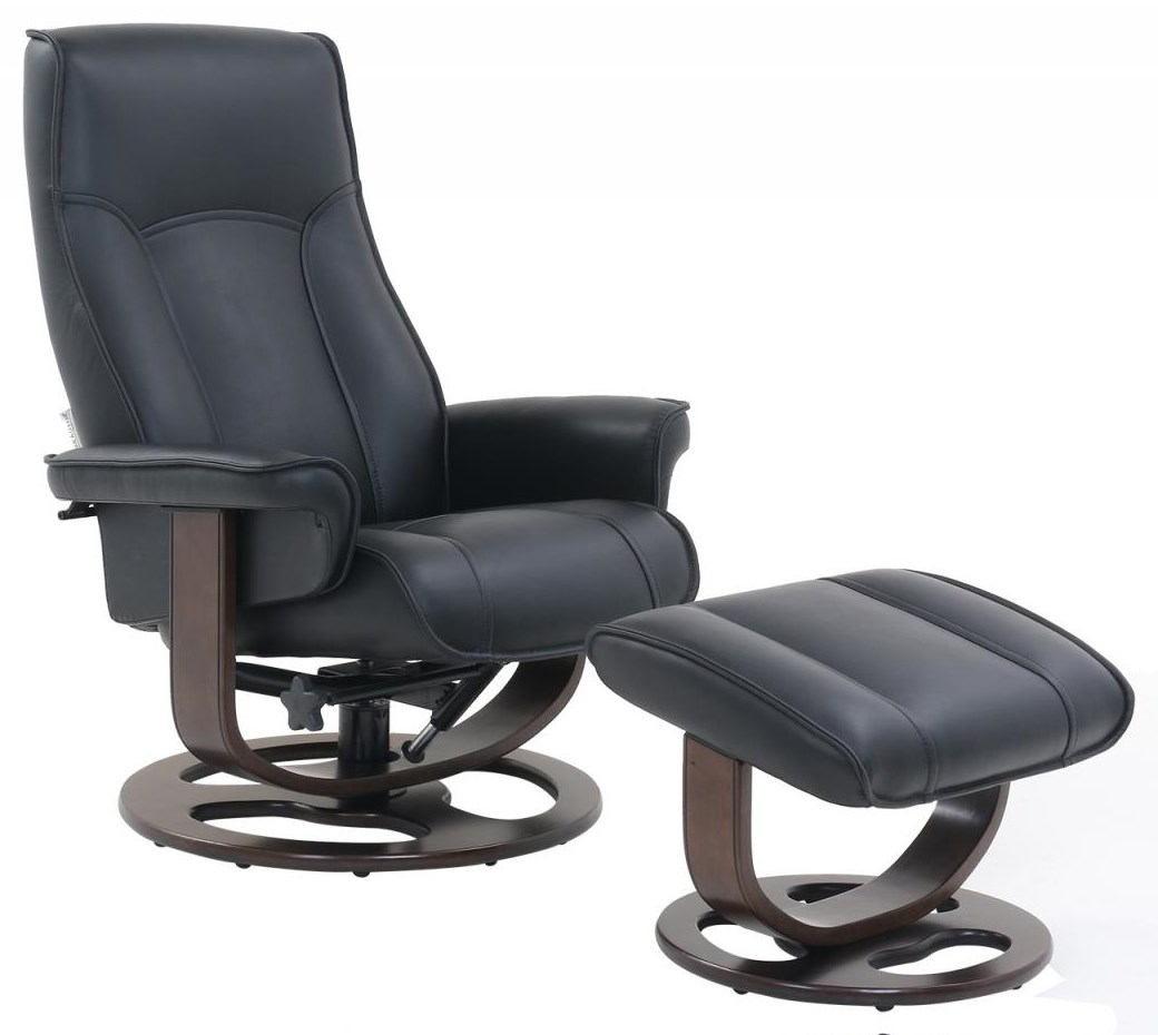 Austin Swivel Chair and Ottoman by Barcalounger at Johnny Janosik