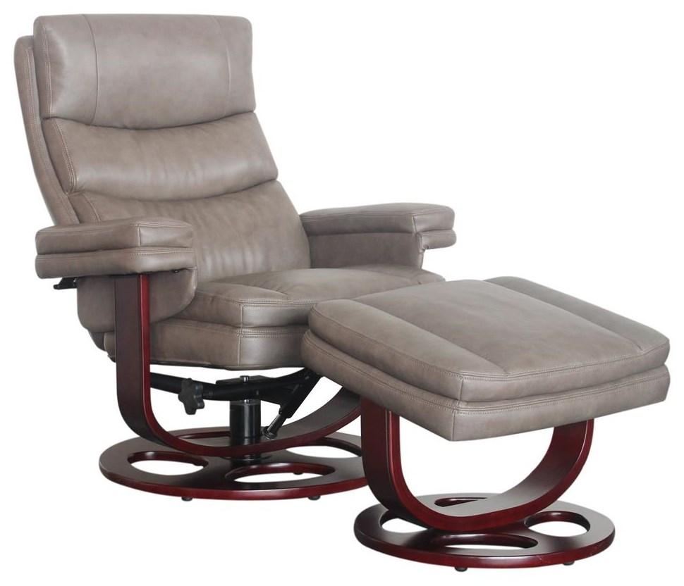 8023 Pedestal Recliner by Barcalounger at Dream Home Interiors