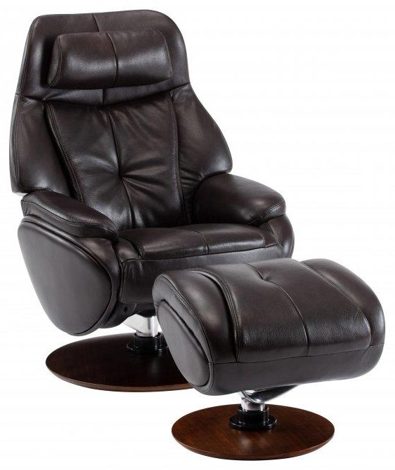 Marjon Recliner and Ottoman by Barcalounger at Johnny Janosik