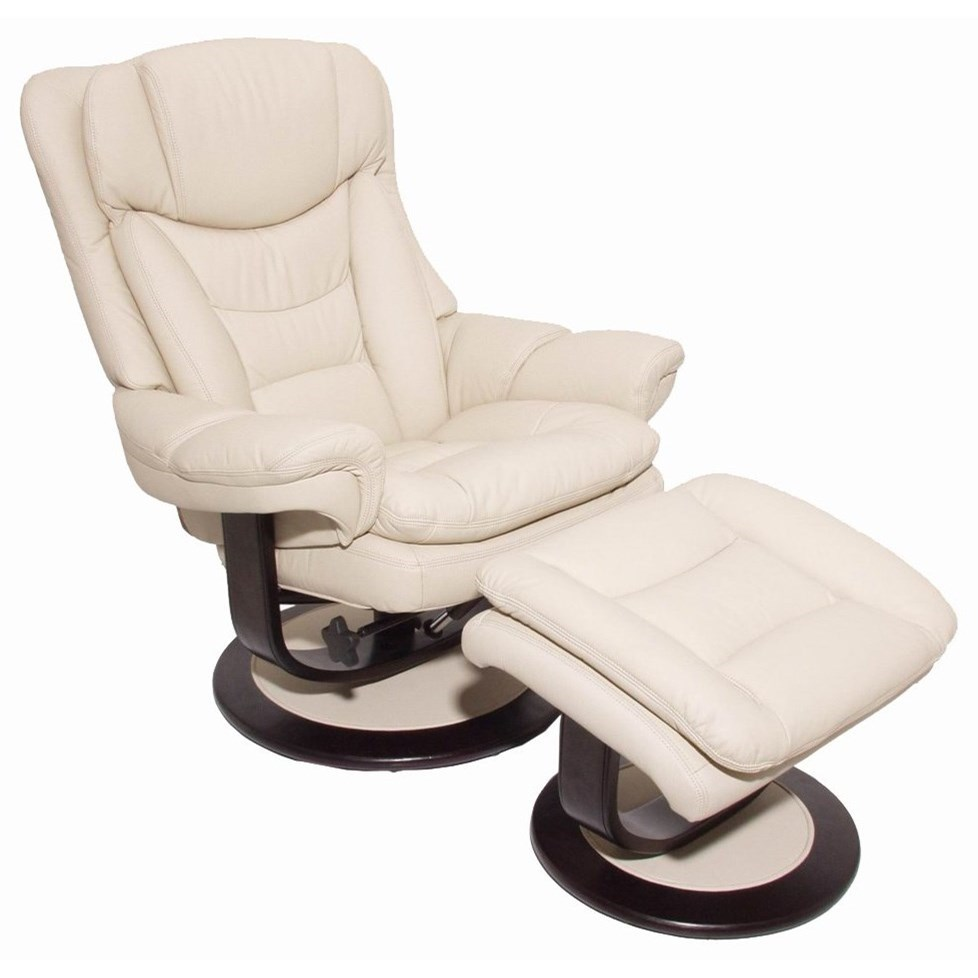 Roscoe Oversized Recliner and Ottoman by Barcalounger at Johnny Janosik