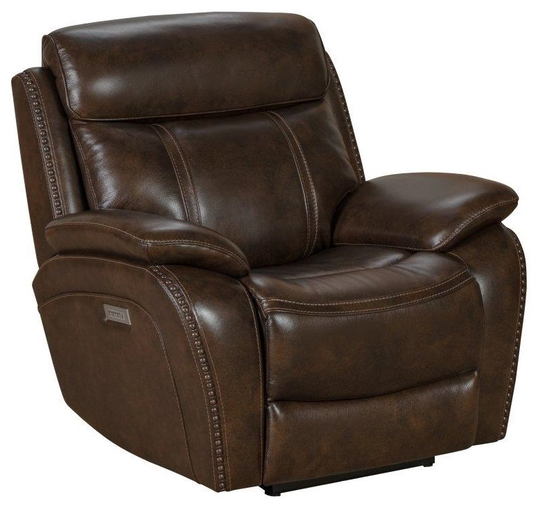 Sandover Powered Recliner by Barcalounger at Johnny Janosik