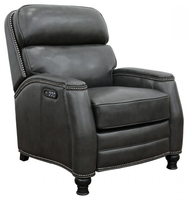 Townsend Leather Recliner by Barcalounger at Sprintz Furniture