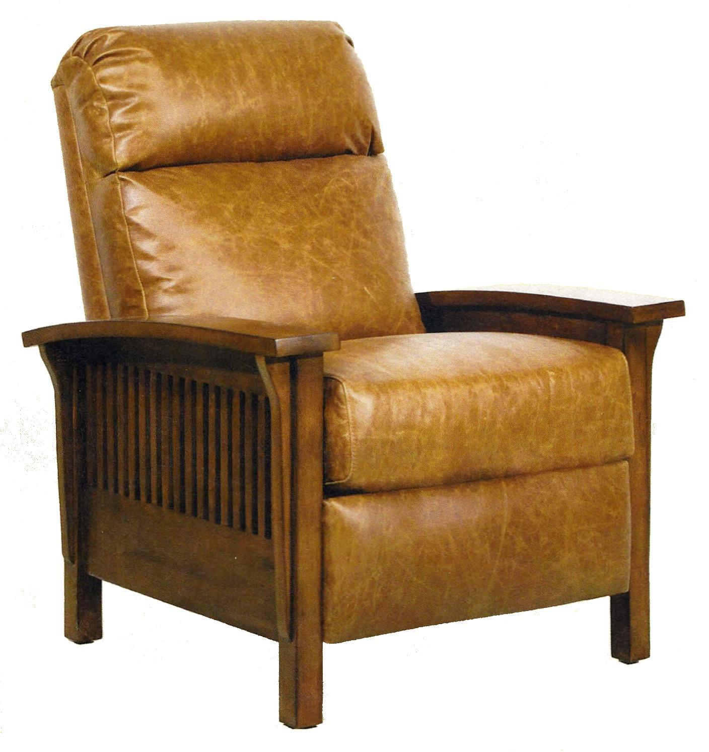 Vintage Reserve Craftsman II Recliner by Barcalounger at Sprintz Furniture