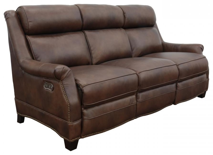 Warrendale Powered Reclining Sofa by Barcalounger at Johnny Janosik