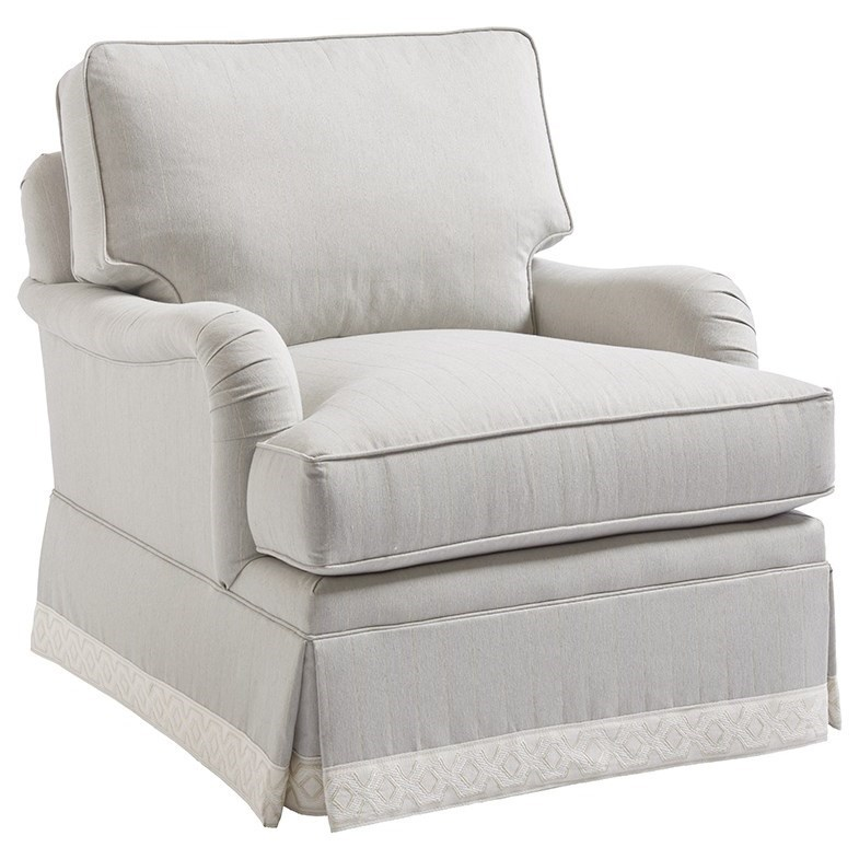 Barclay Butera Upholstery Blaire Chair by Barclay Butera at Baer's Furniture
