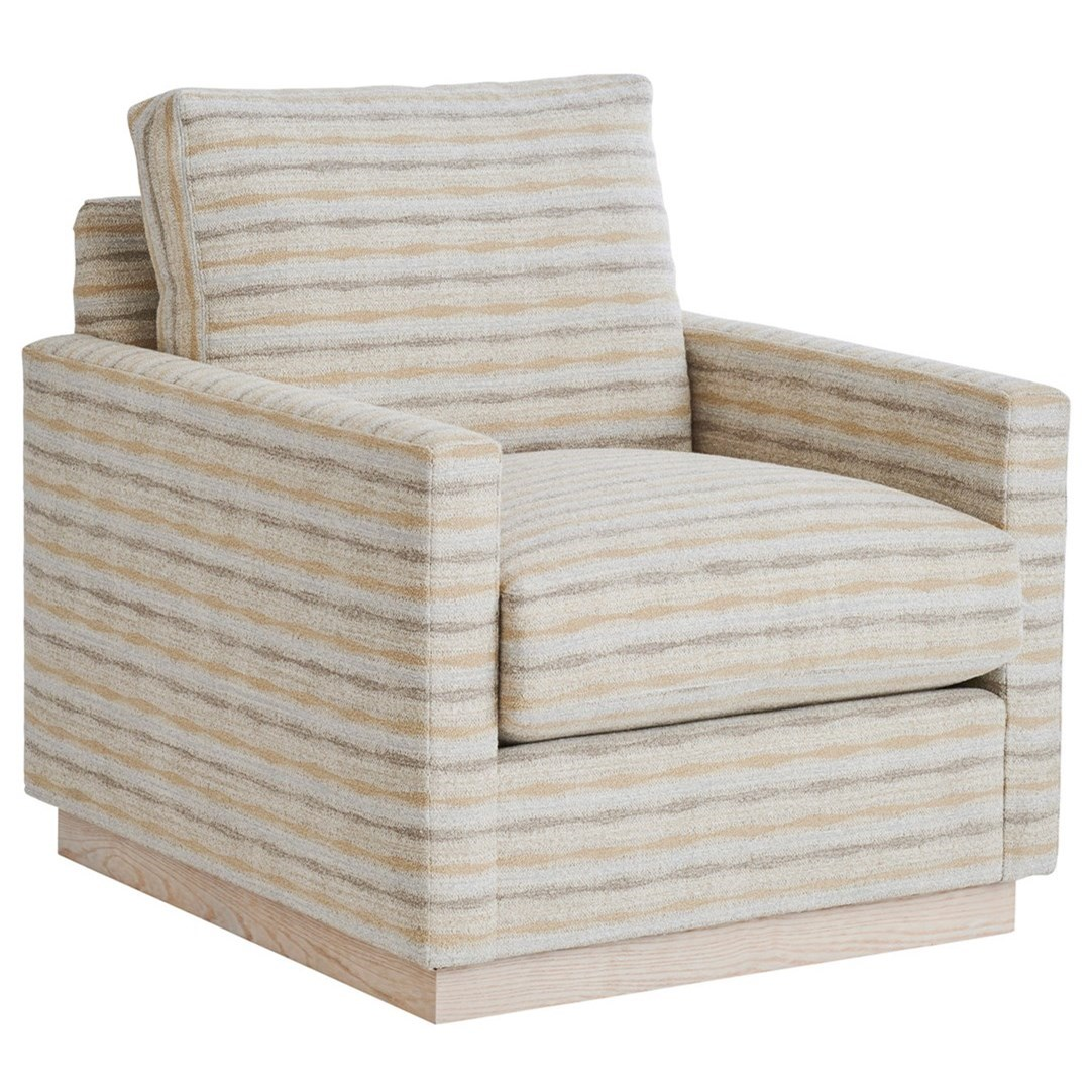 Barclay Butera Upholstery Meadow View Swivel Chair by Barclay Butera at Baer's Furniture