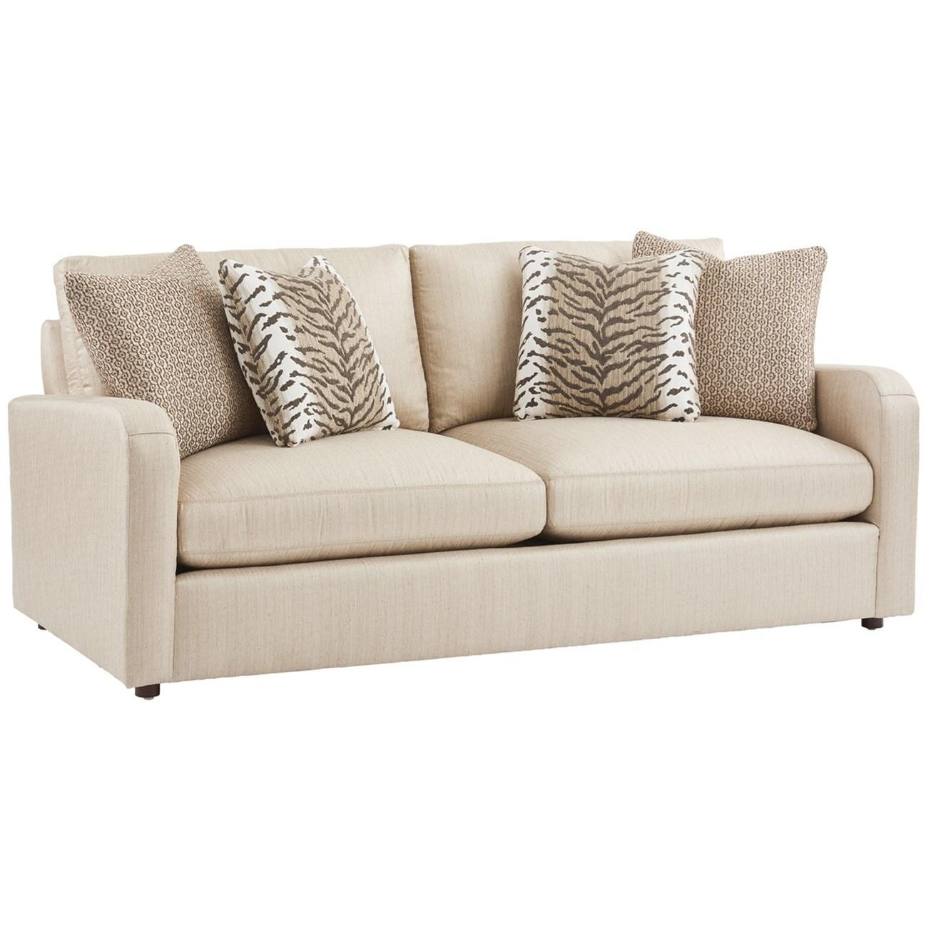 Barclay Butera Upholstery Grant Apartment Sofa by Barclay Butera at Baer's Furniture