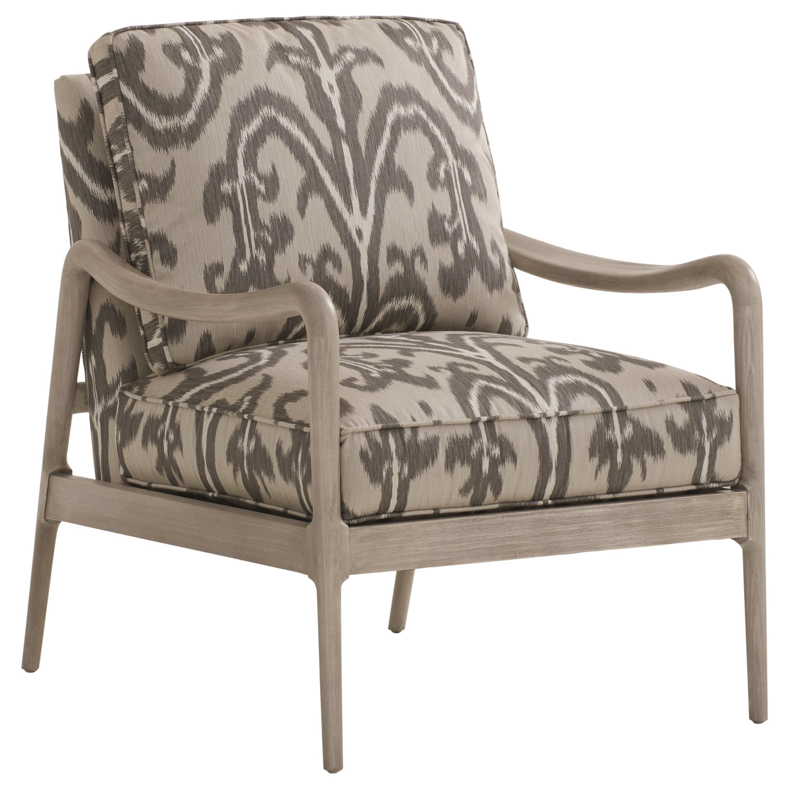Barclay Butera Upholstery Leblanc Chair by Barclay Butera at Baer's Furniture