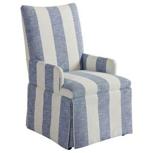 Mackenzie Skirted Dining Arm Chair