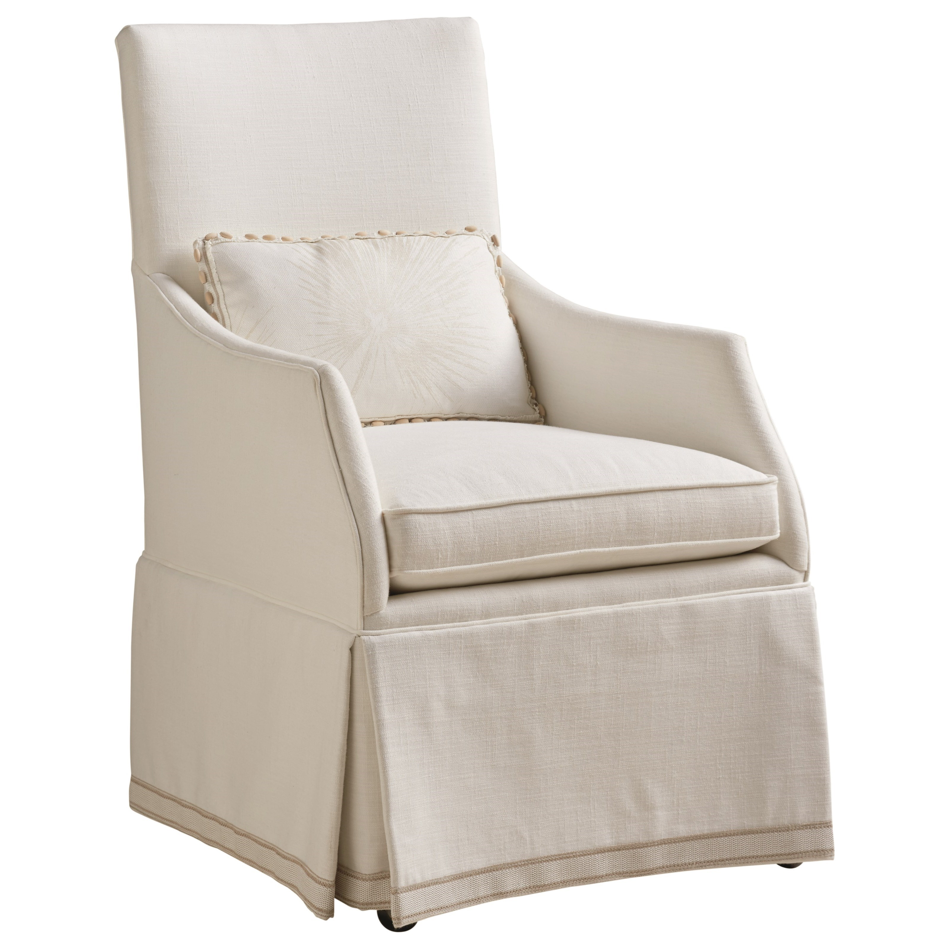 Barclay Butera Upholstery Adelaide Host Dining Chair by Barclay Butera at Baer's Furniture