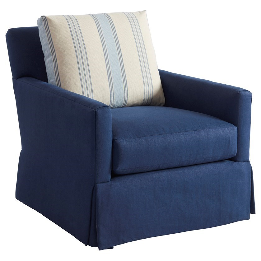 Barclay Butera Upholstery Harlow Chair by Barclay Butera at Baer's Furniture