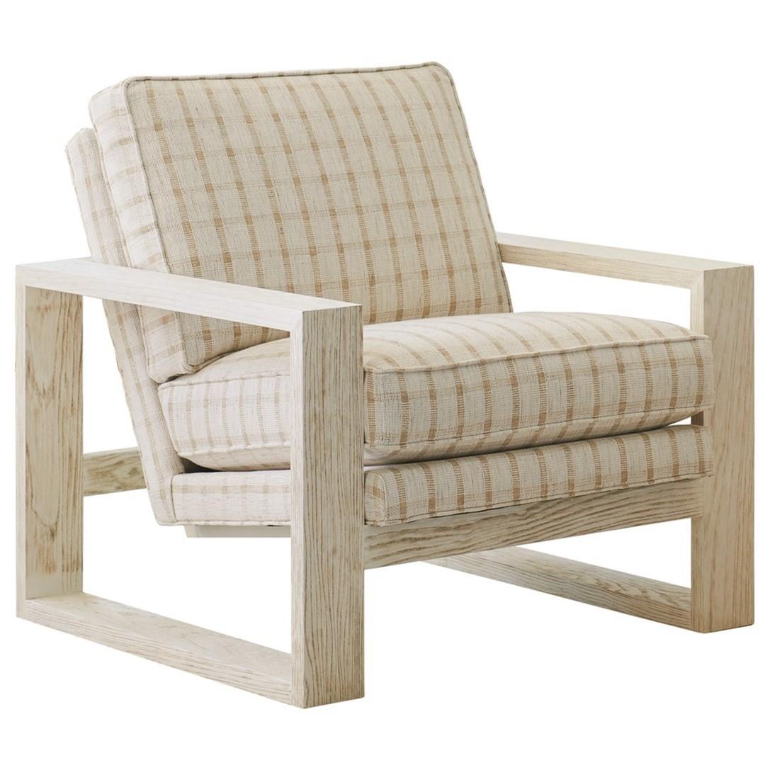 Barclay Butera Upholstery Thaynes Chair by Barclay Butera at Baer's Furniture