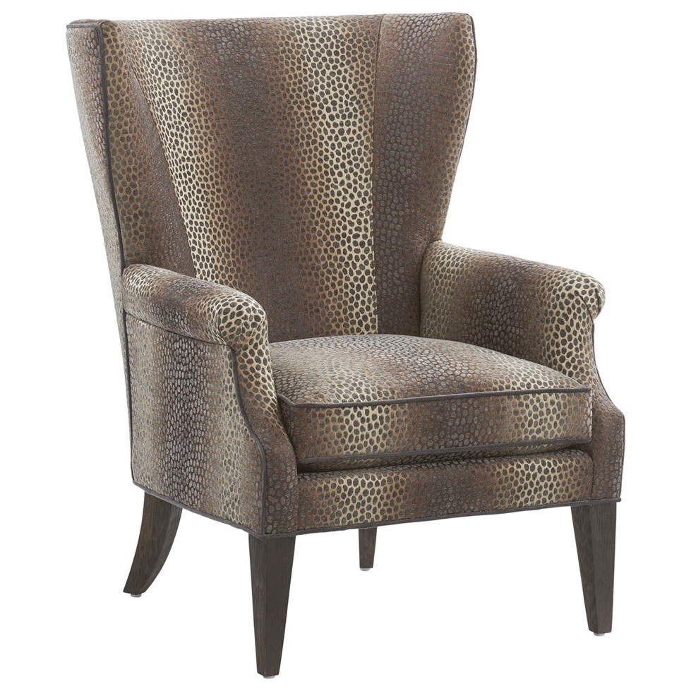 Barclay Butera Upholstery Newton Wing Chair by Barclay Butera at Baer's Furniture