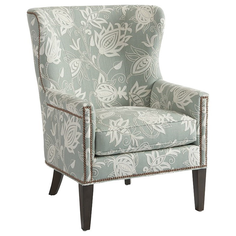 Barclay Butera Upholstery Avery Wing Chair by Barclay Butera at Baer's Furniture