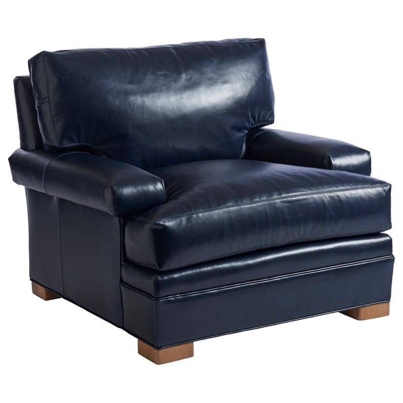 Barclay Butera Upholstery Maxwell Chair by Barclay Butera at Baer's Furniture