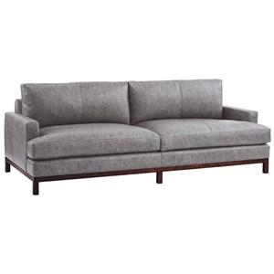 Horizon Sofa w/ Bronze Metal Base