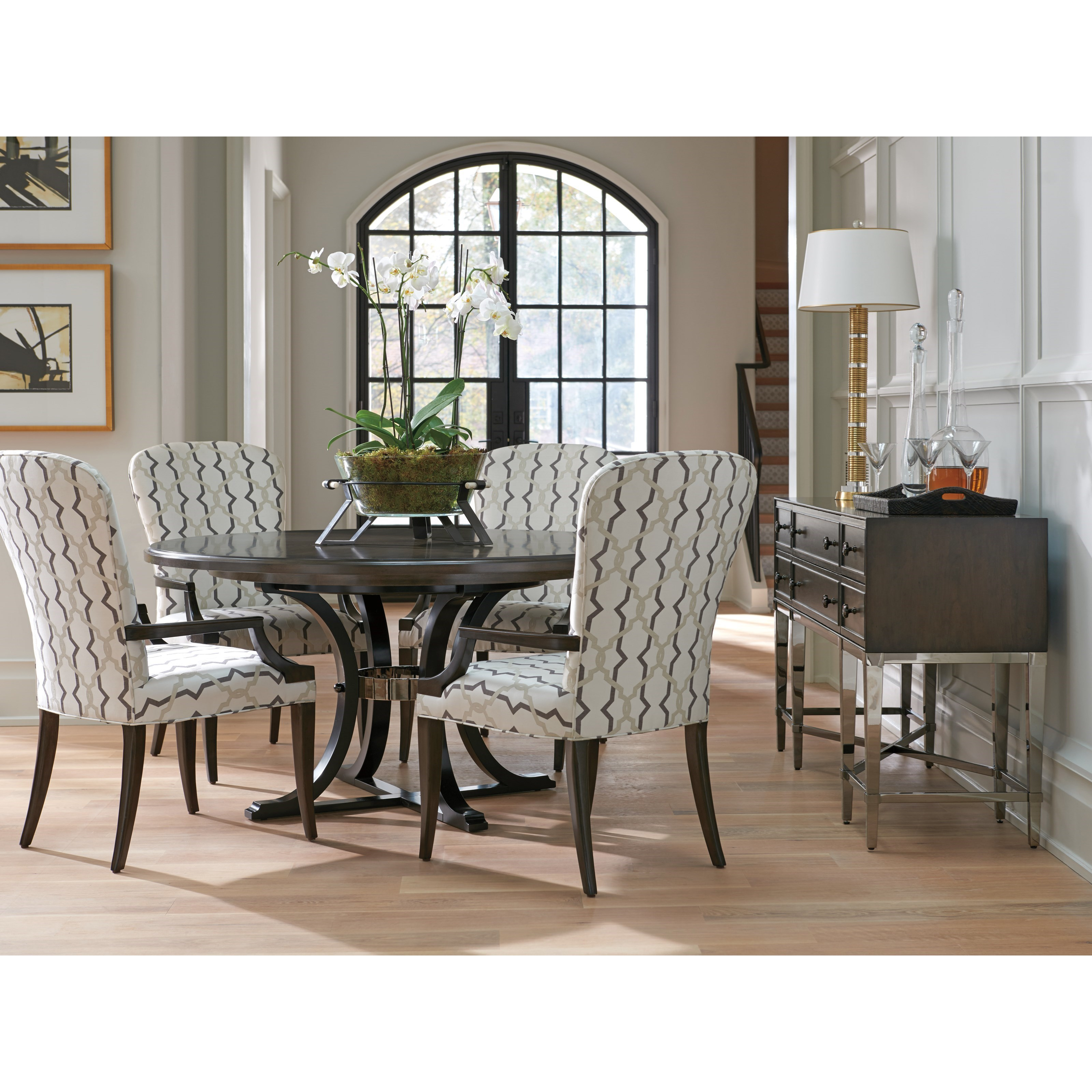 Brentwood Dining Group by Barclay Butera at Baer's Furniture