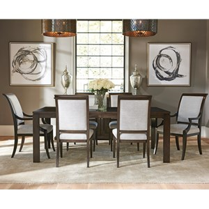 Seven Piece Dining Set with Oakmont Table and Kathryn Chairs