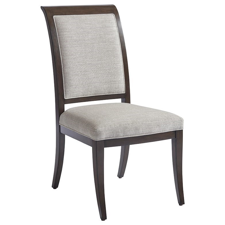 Brentwood Kathryn Side Chair (married) by Barclay Butera at Baer's Furniture