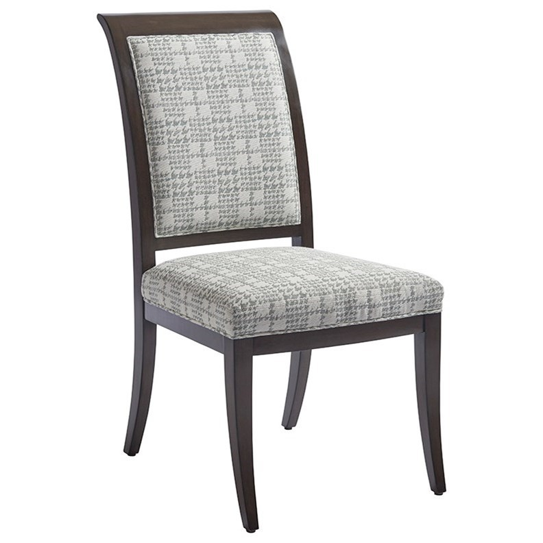 Brentwood Kathryn Side Chair (custom) by Barclay Butera at Baer's Furniture