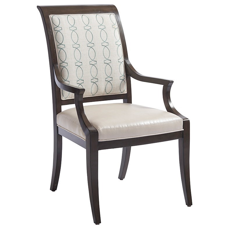 Brentwood Kathryn Arm Chair (custom) by Barclay Butera at Baer's Furniture