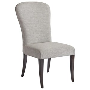 Schuler Upholstered Side Chair in Atwood Gray Fabric