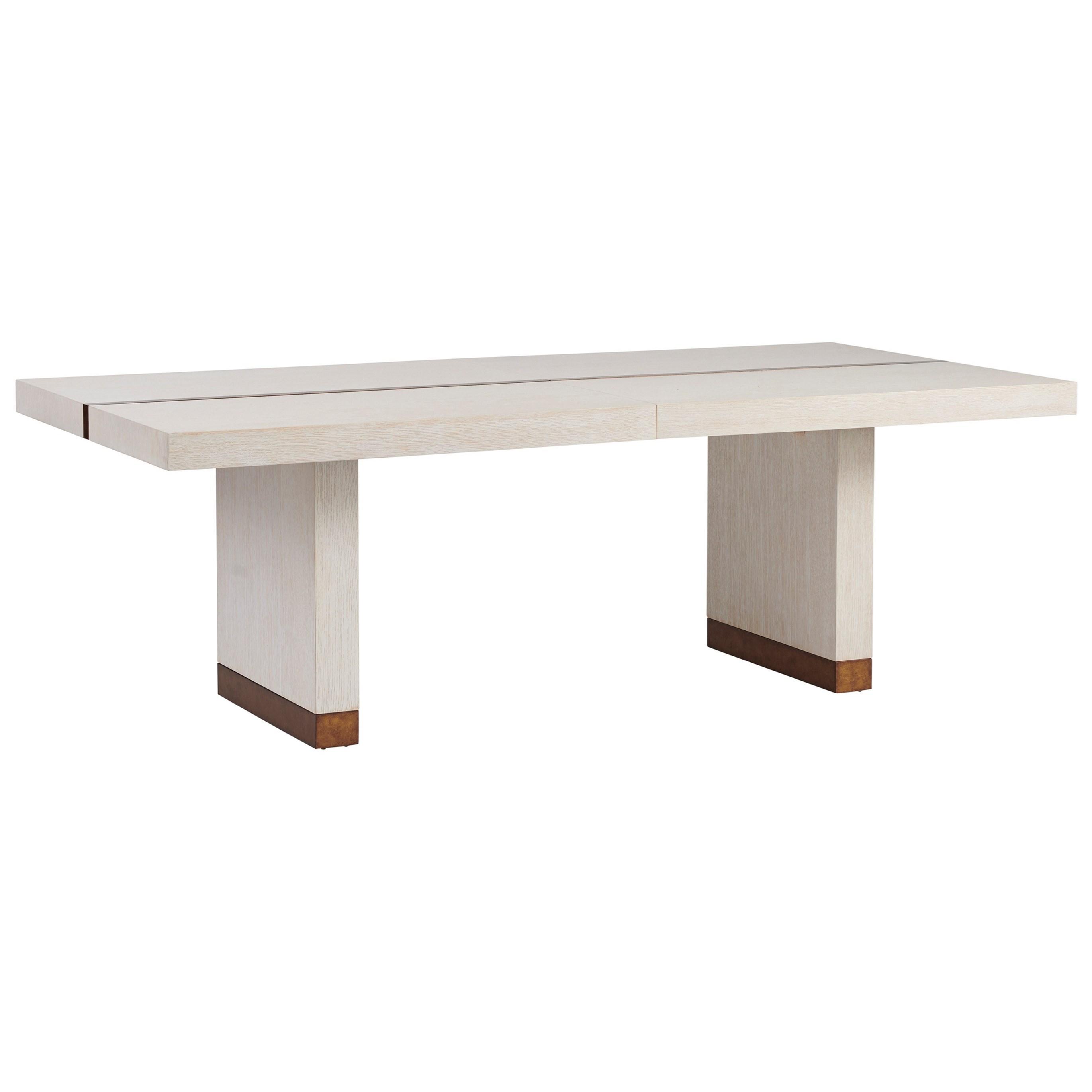 Carmel Vista Rectangular Dining Table by Barclay Butera at Baer's Furniture