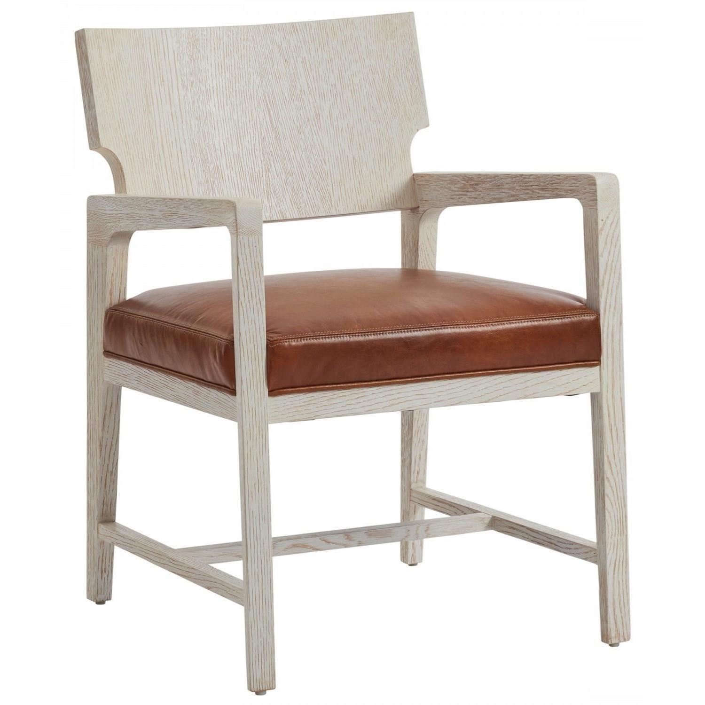 Carmel Ridgewood Arm Chair by Barclay Butera at C. S. Wo & Sons Hawaii