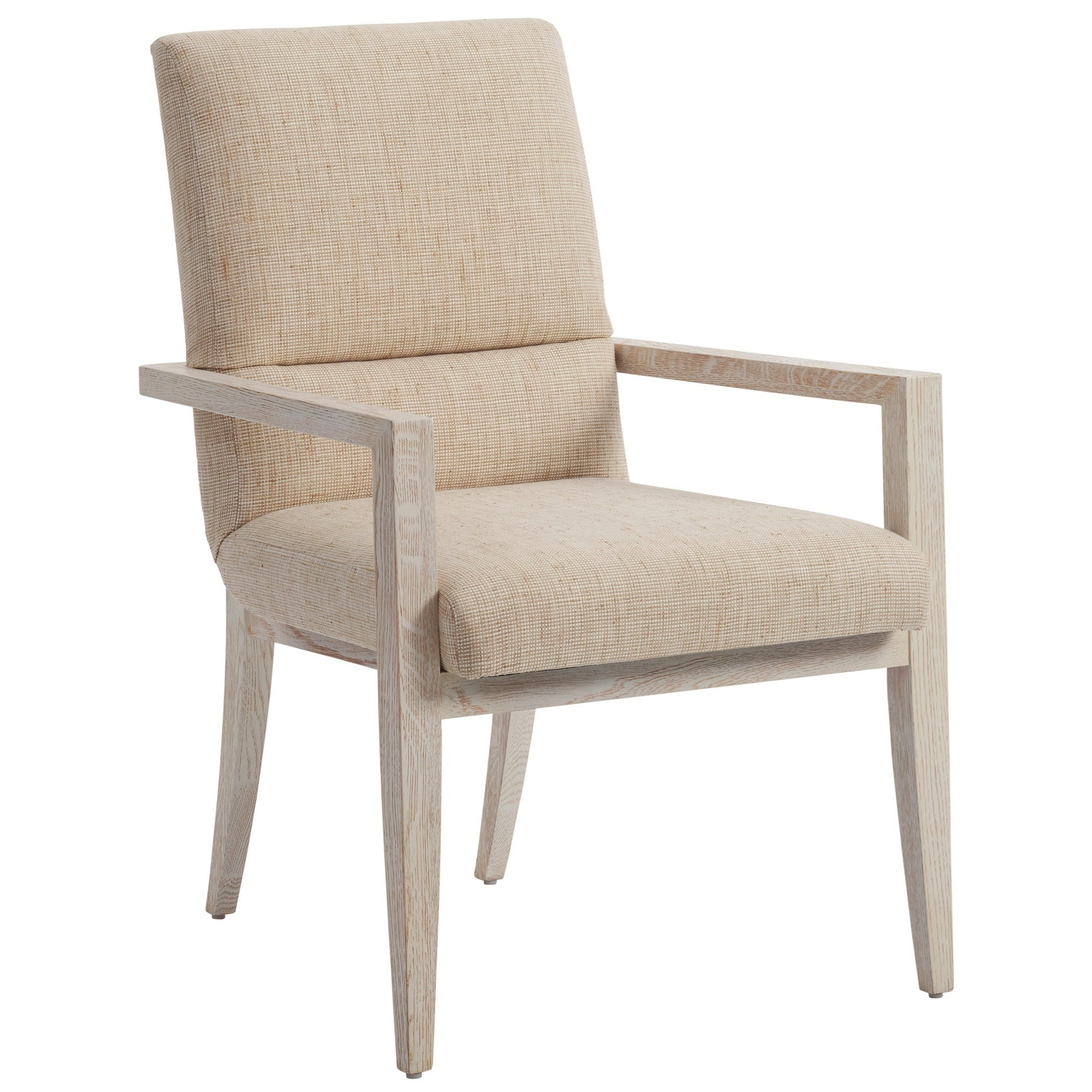 Carmel Palmero Upholstered Arm Chair by Barclay Butera at Baer's Furniture