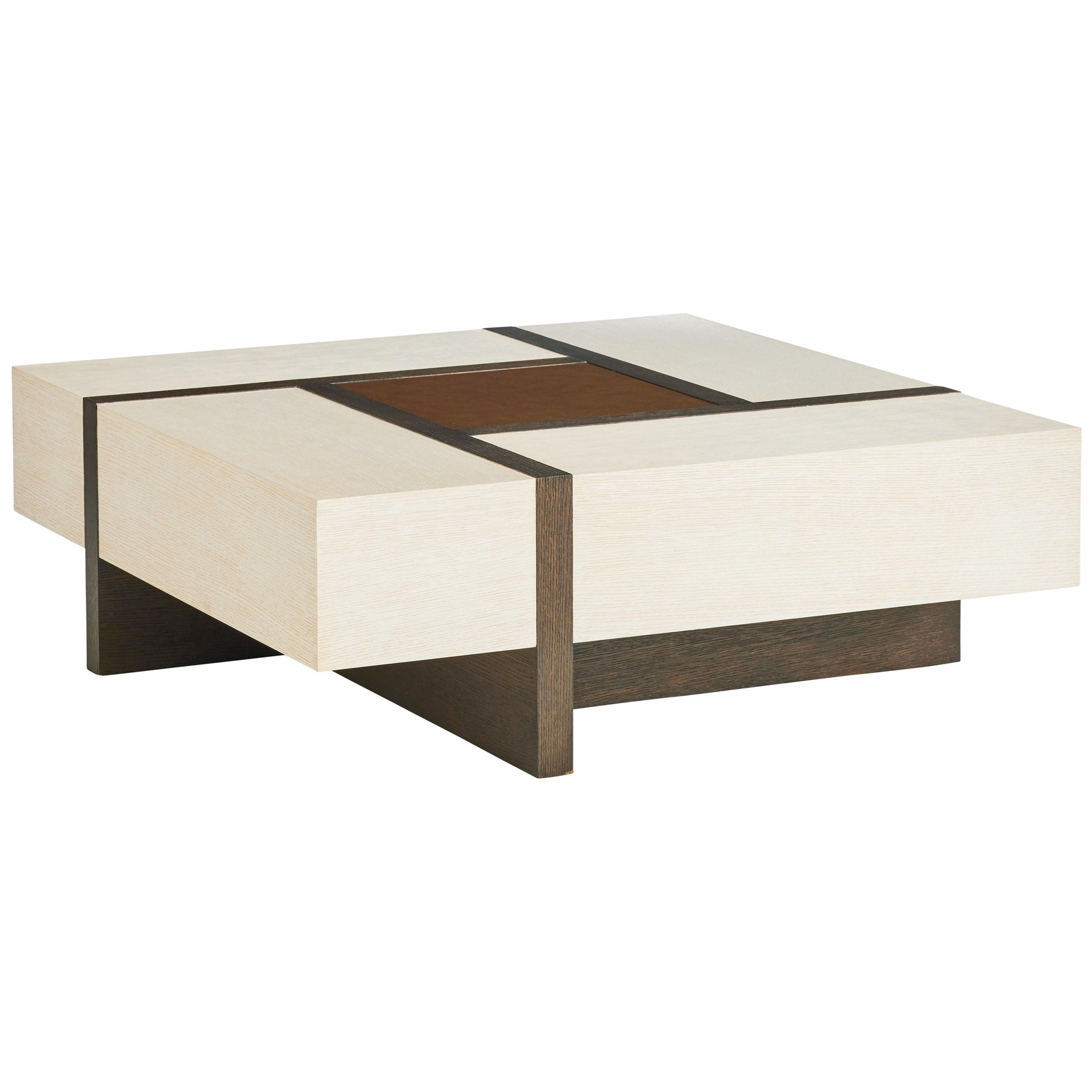 Carmel Links Square Cocktail Table by Barclay Butera at Baer's Furniture