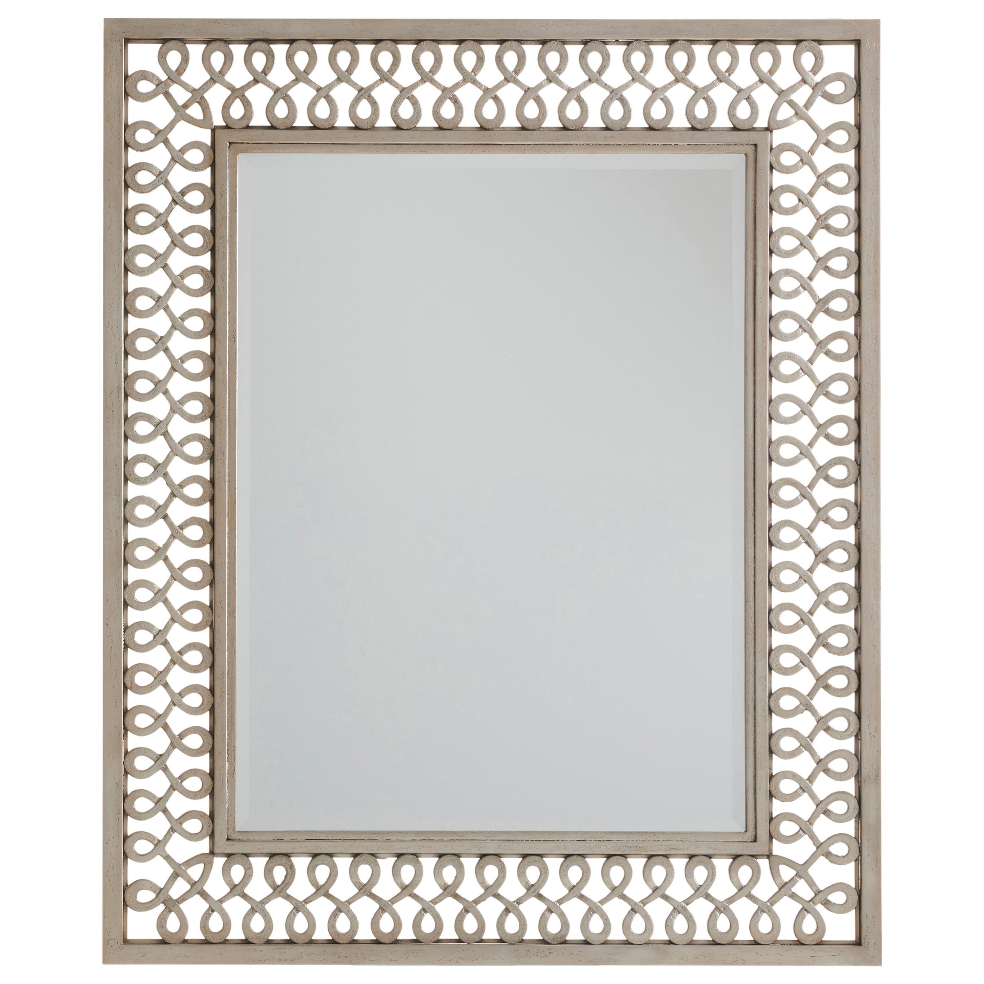 Malibu Manzanita Metal Mirror by Barclay Butera at Baer's Furniture