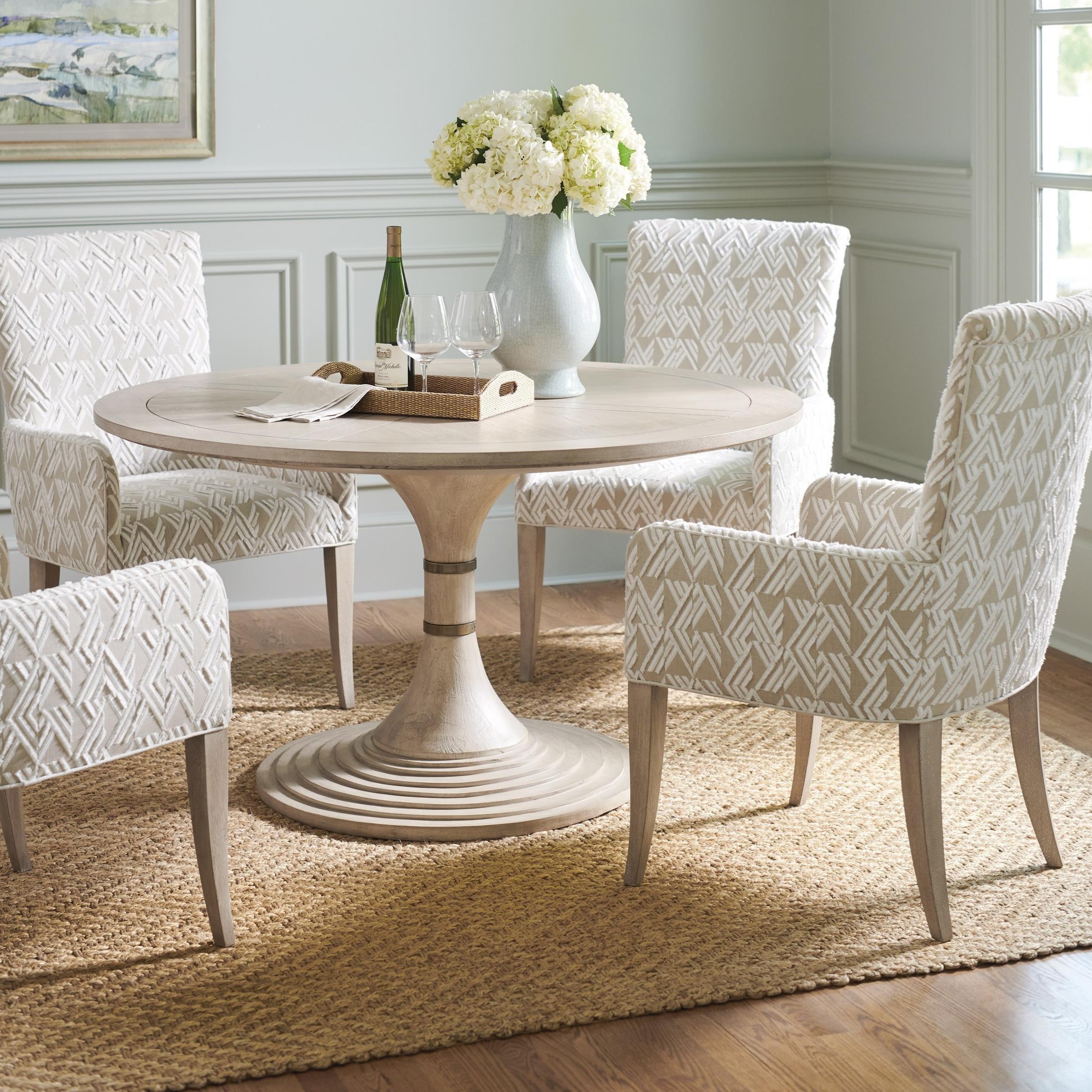 Malibu 5-Piece Dining Set with Topanga Table by Barclay Butera at Baer's Furniture