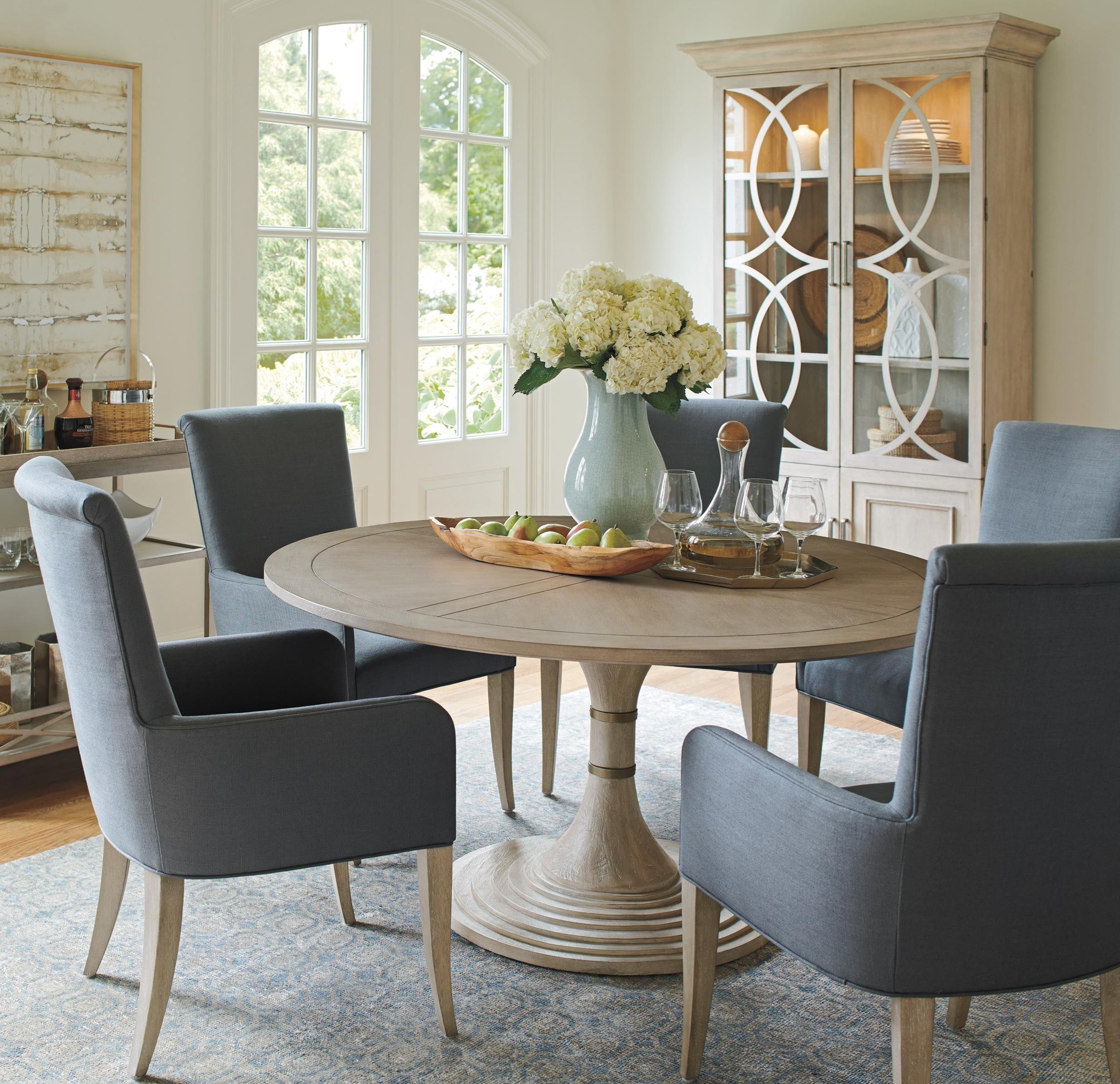 Malibu 6-Piece Dining Set by Barclay Butera at Baer's Furniture