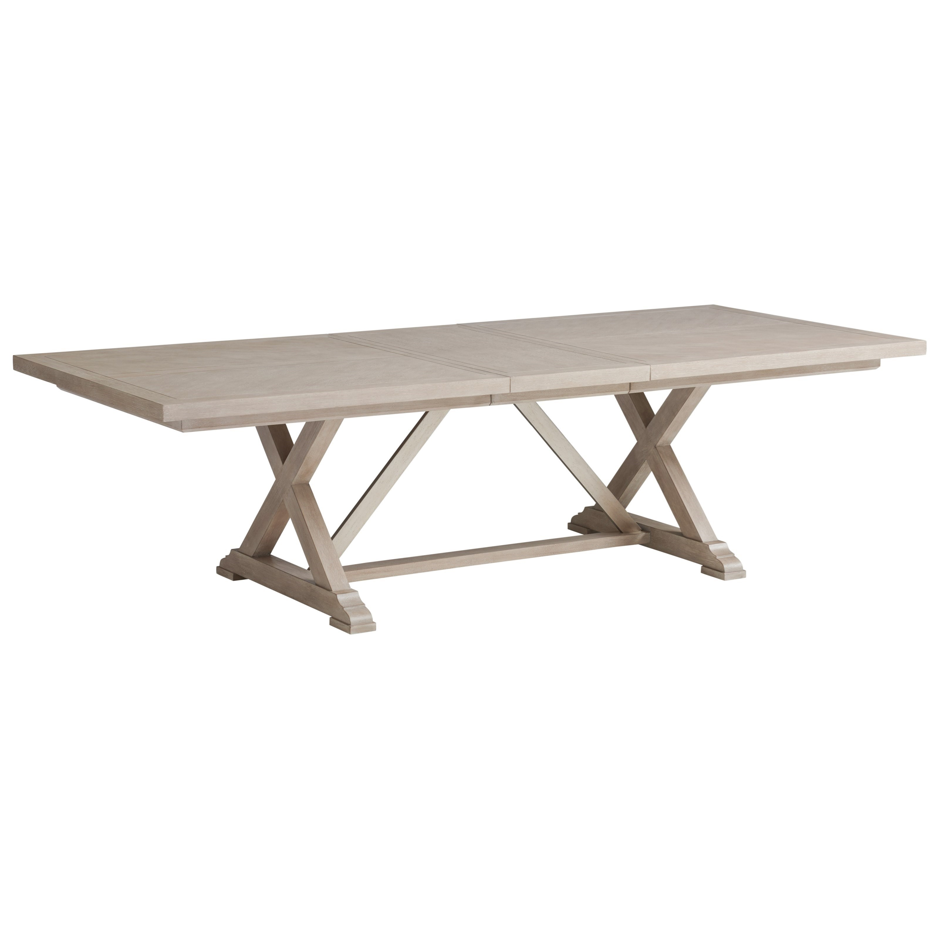 Malibu Rockpoint Rectangular Dining Table by Barclay Butera at Baer's Furniture