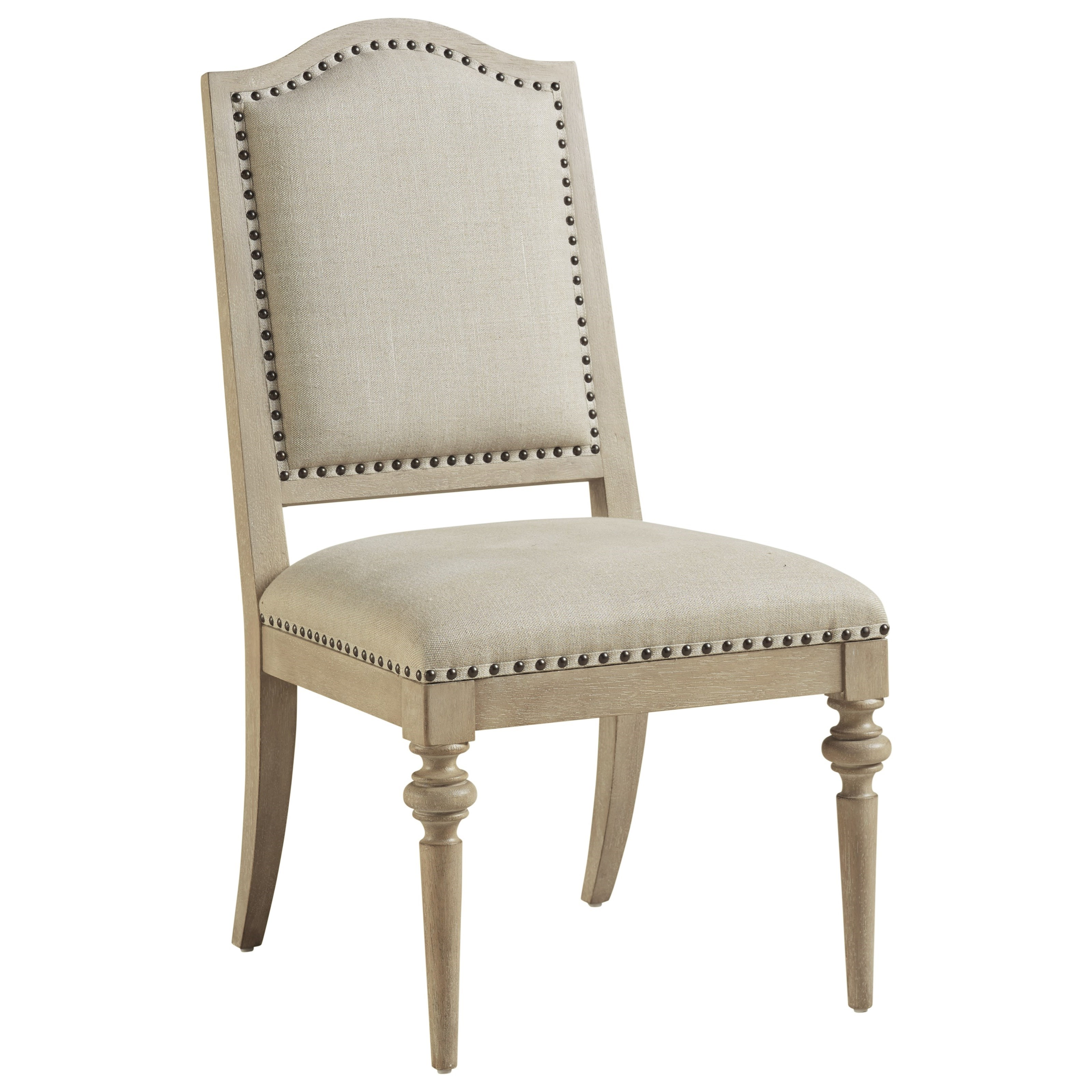 Malibu Aidan Upholstered Side Chair by Barclay Butera at Baer's Furniture