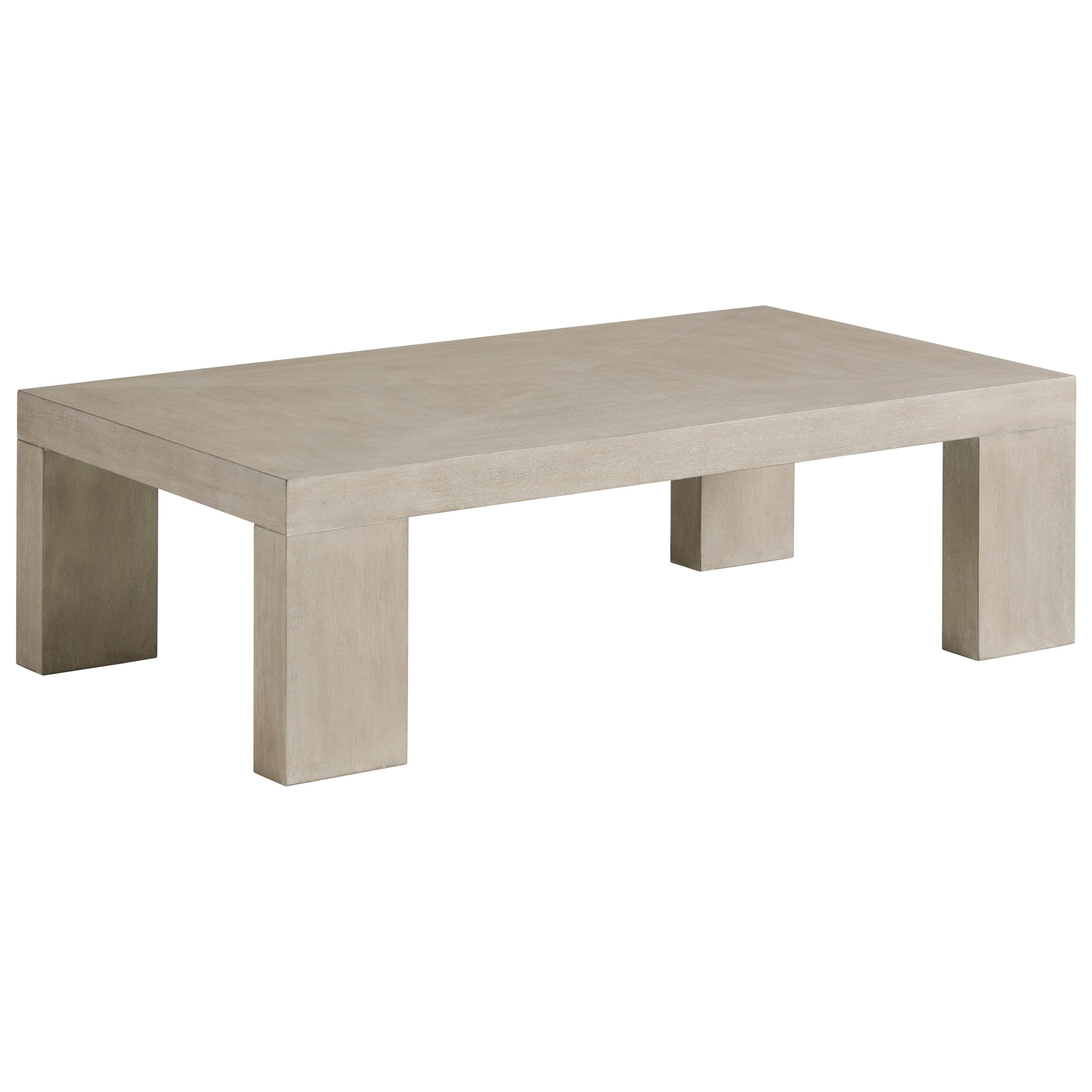 Malibu Surfrider Cocktail Table by Barclay Butera at Baer's Furniture