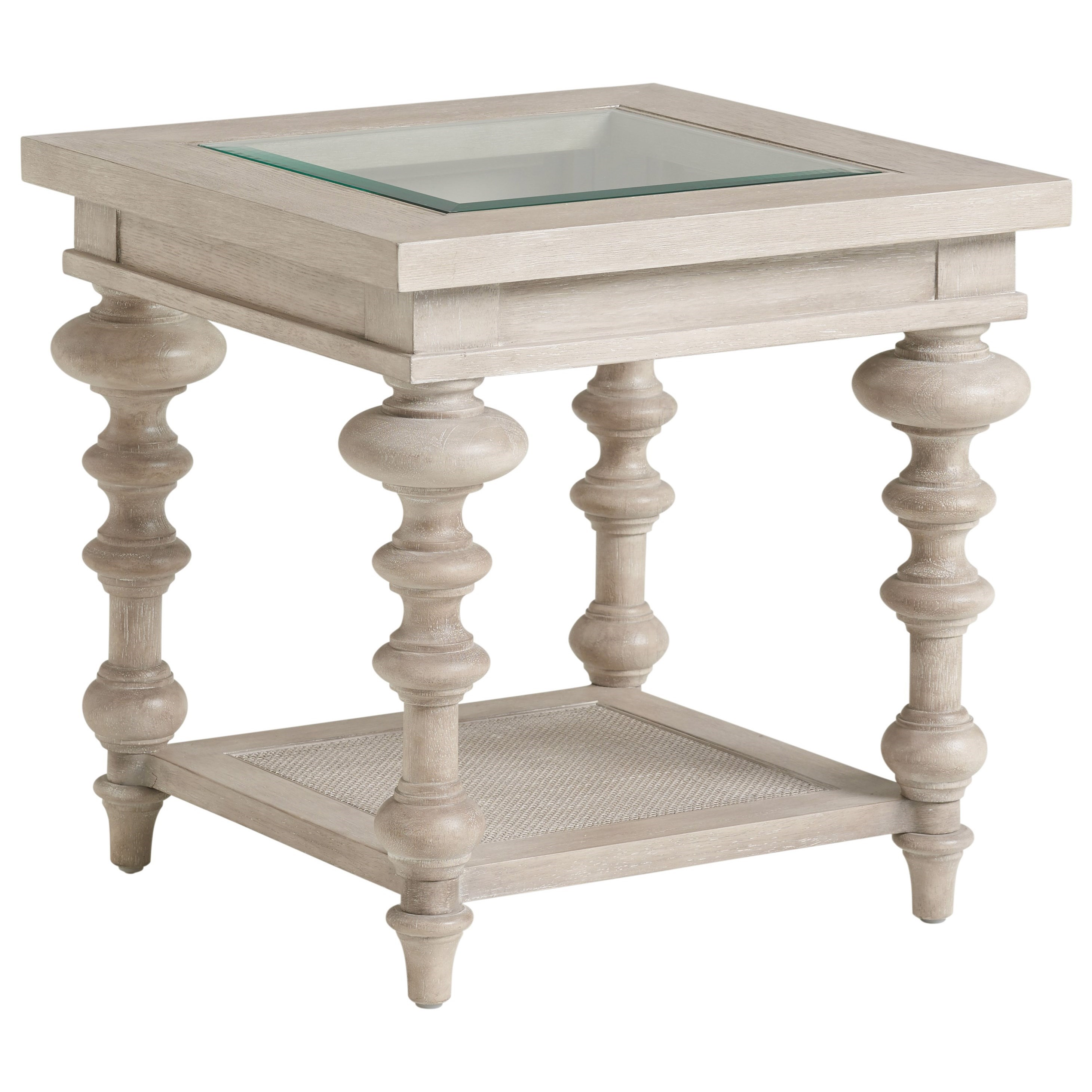 Malibu Castlerock End Table by Barclay Butera at Baer's Furniture