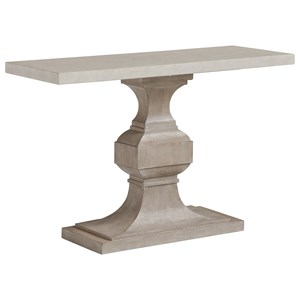 Tivoli Console Table with Concrete Top