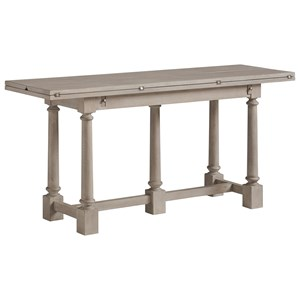 Andalusia Console Table with Fold-Down Table Leaf